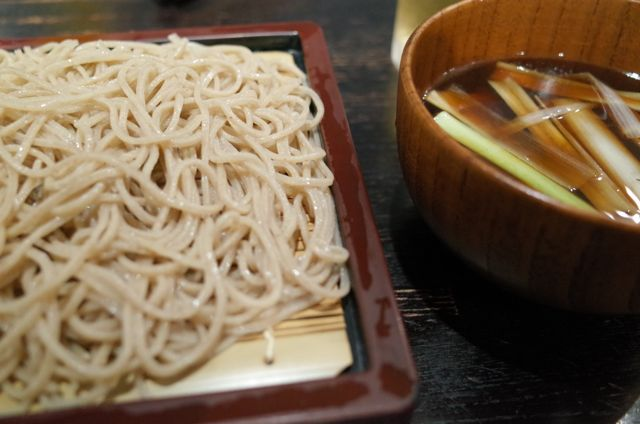 川上庵の蕎麦