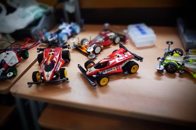 駒木スペシャル2台と他マシン達