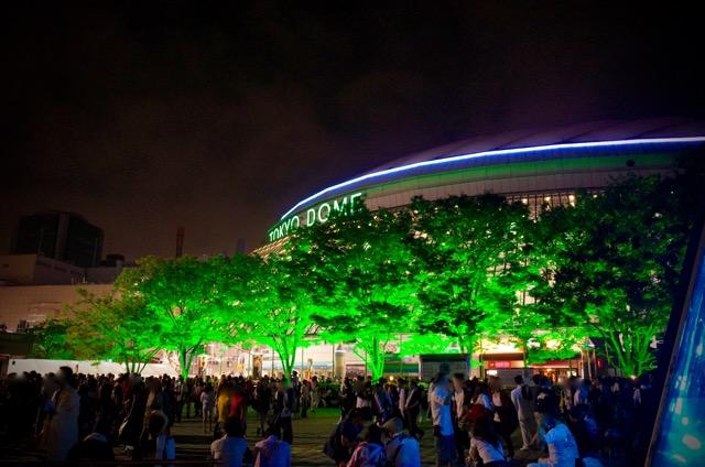 ライブ後の東京ドーム