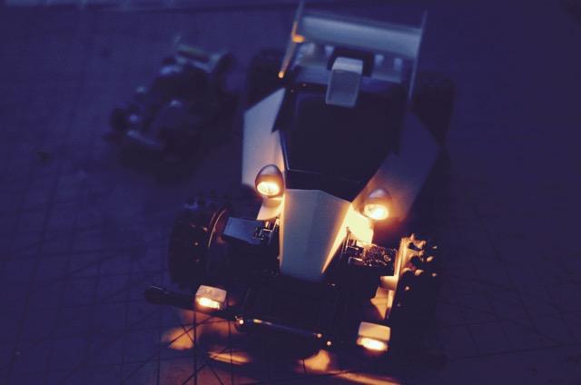 エンペラーLED点灯テスト2