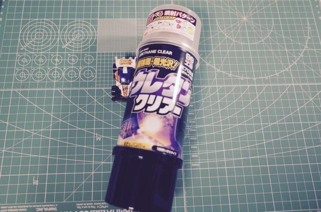 ウレタンクリアースプレー缶