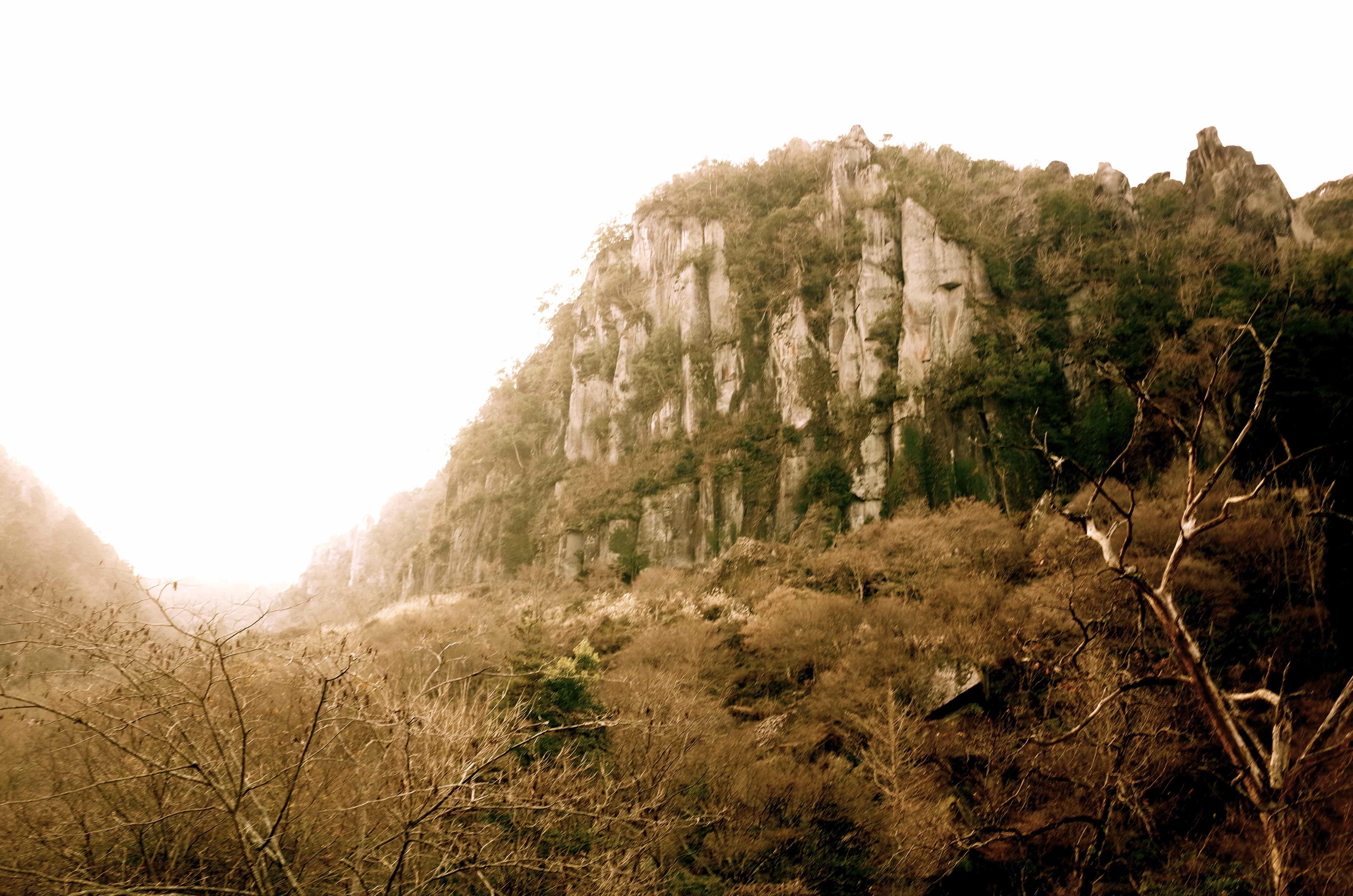 耶馬渓の景色