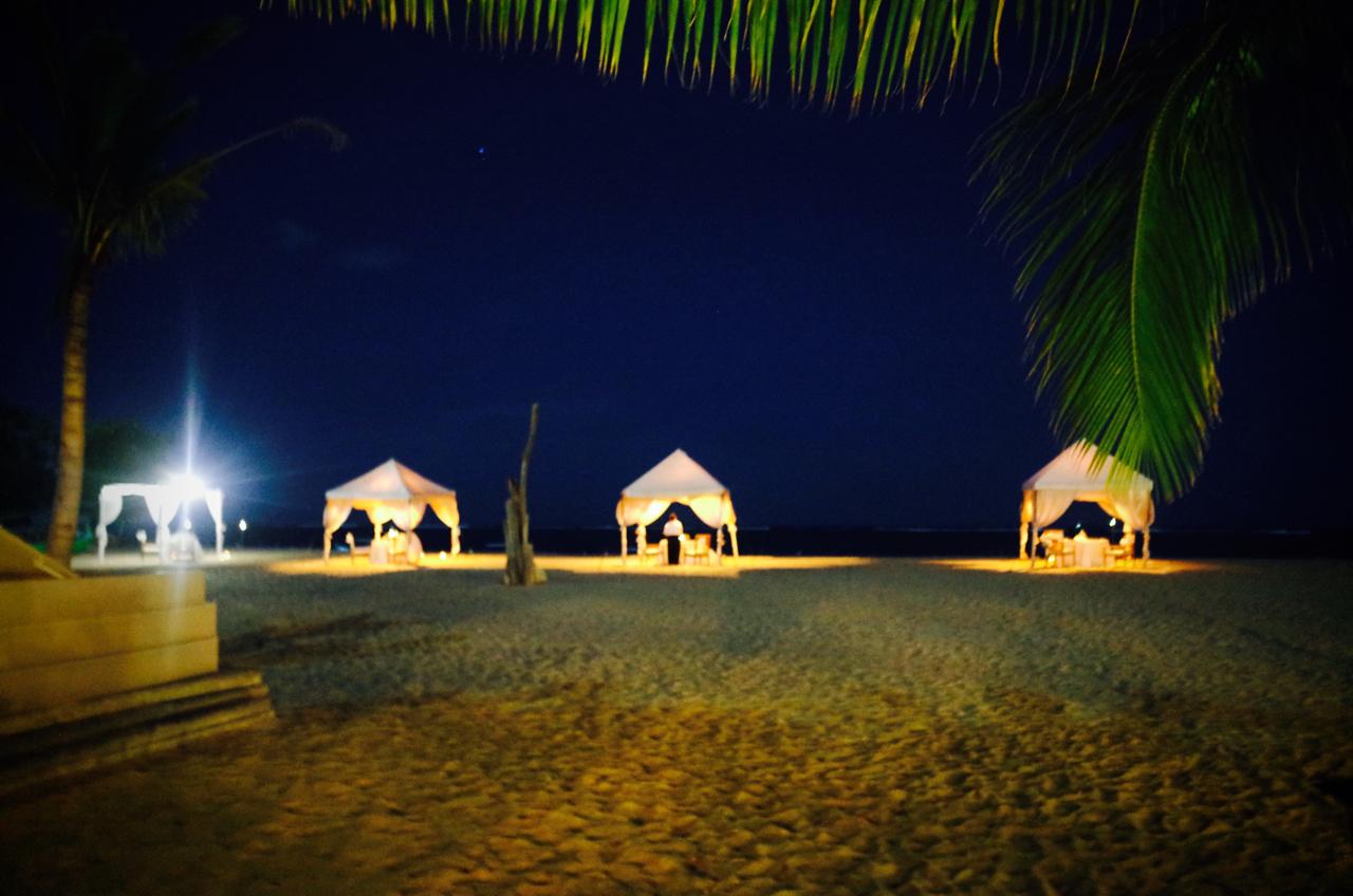 バリ島 夜のビーチ