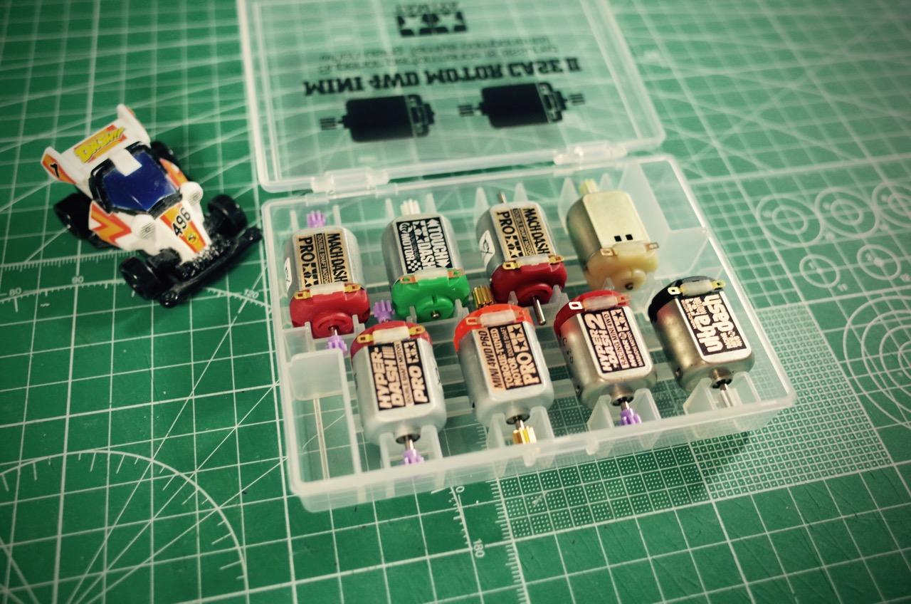 ミニ四駆モーターケース2-03