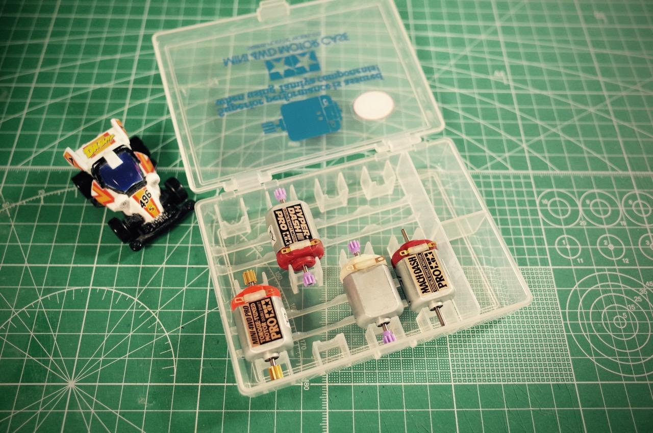 ミニ四駆モーターケース2-05
