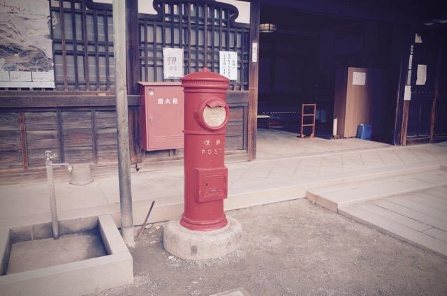 豊川稲荷郵便ポスト
