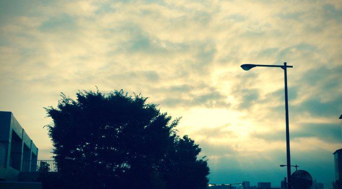 ストリートミニ四駆早朝練習