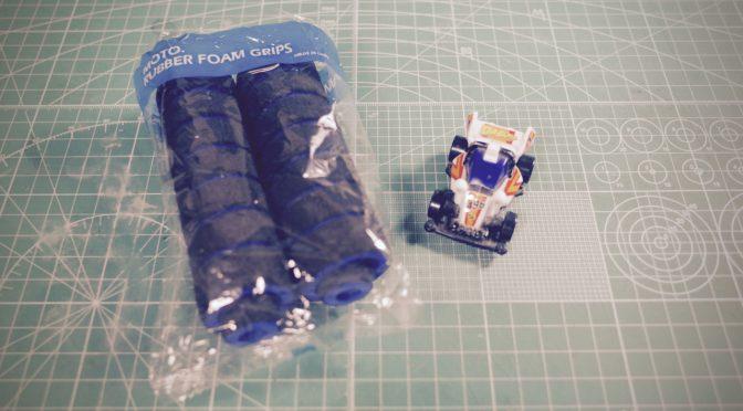ストリートミニ四駆用スポンジタイヤ01