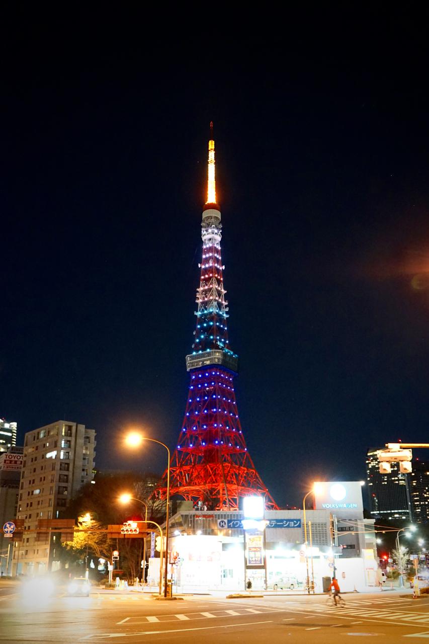 桜と皇帝08東京タワー