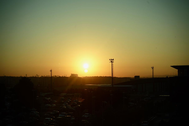 イスタンブールの朝日