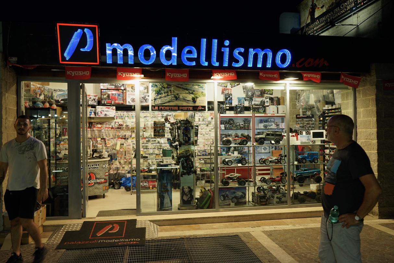ローマのモデルショップ