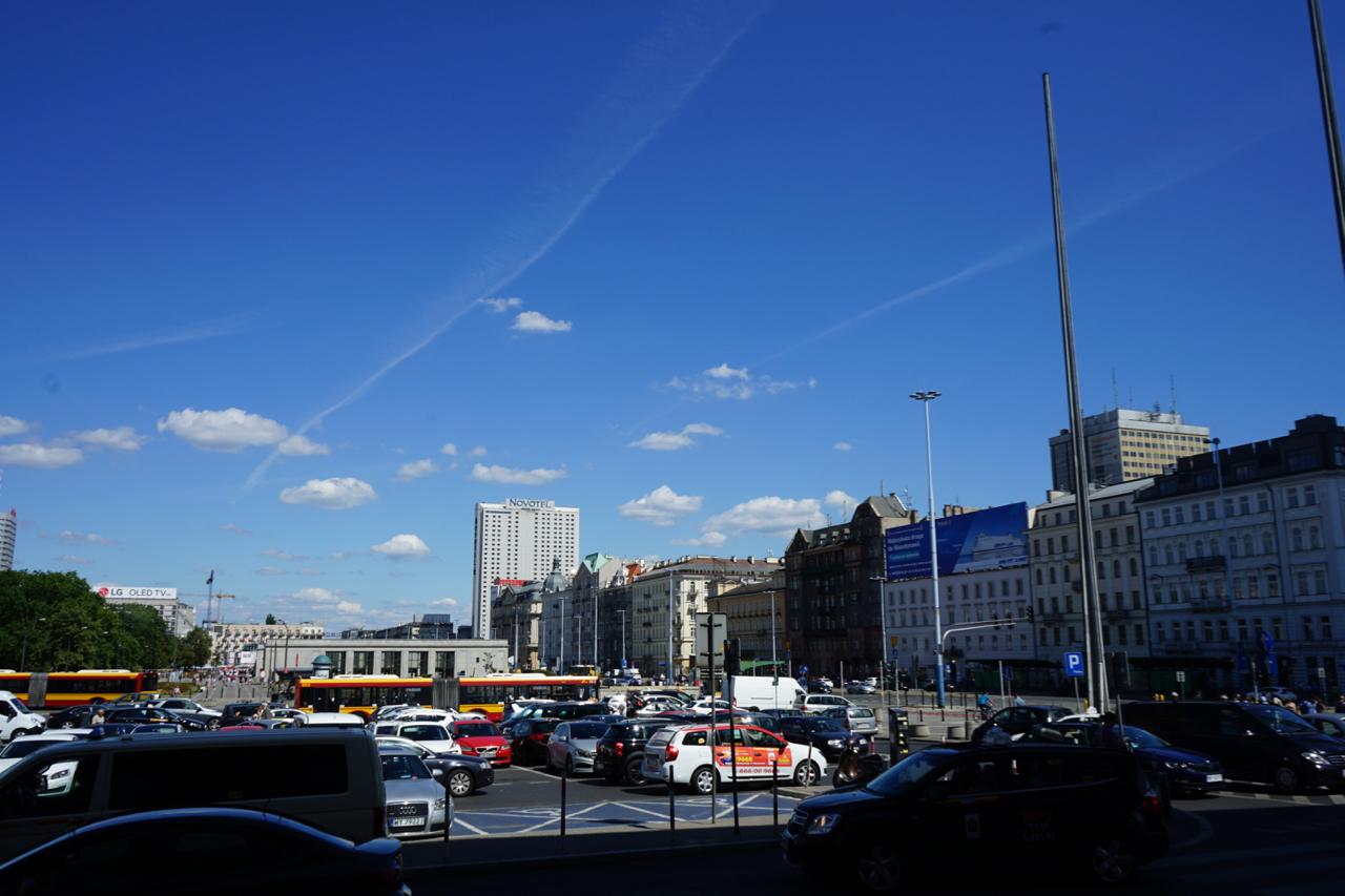 ワルシャワ市街