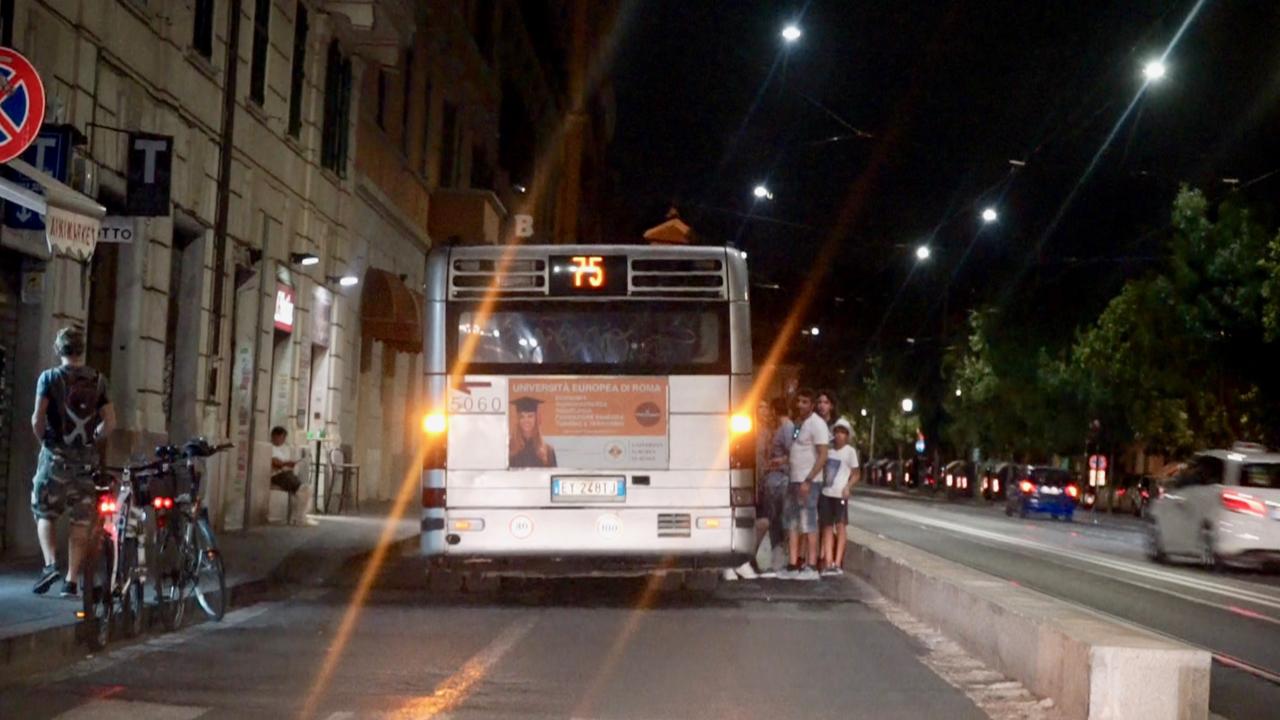 20180708ローマの路線バス