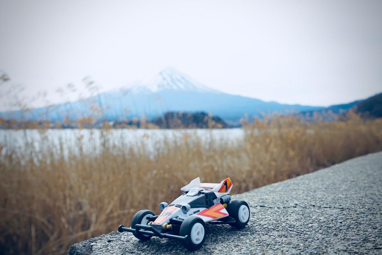 皇帝と富士山