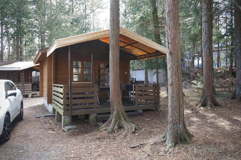 真冬のキャンプ01