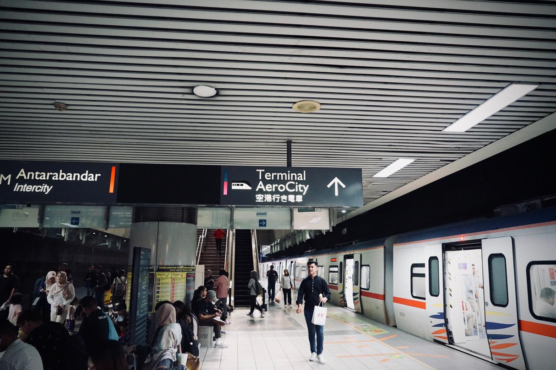 KL05駅のホーム