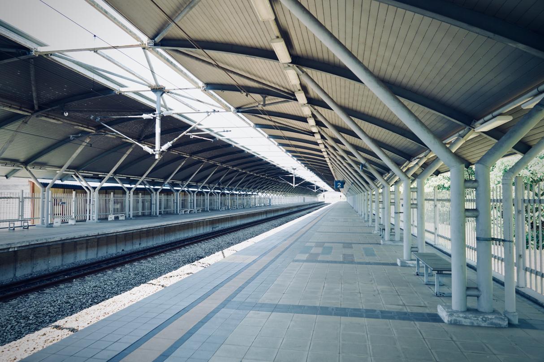 タパーロード駅ホーム