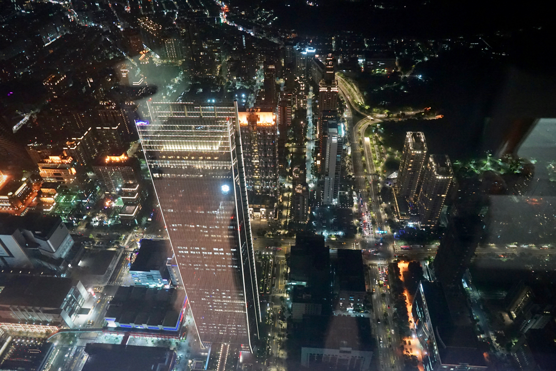 台北101の夜景02