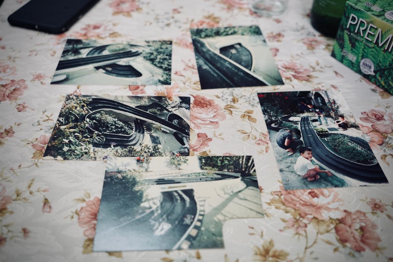 作製当時のサーキット写真