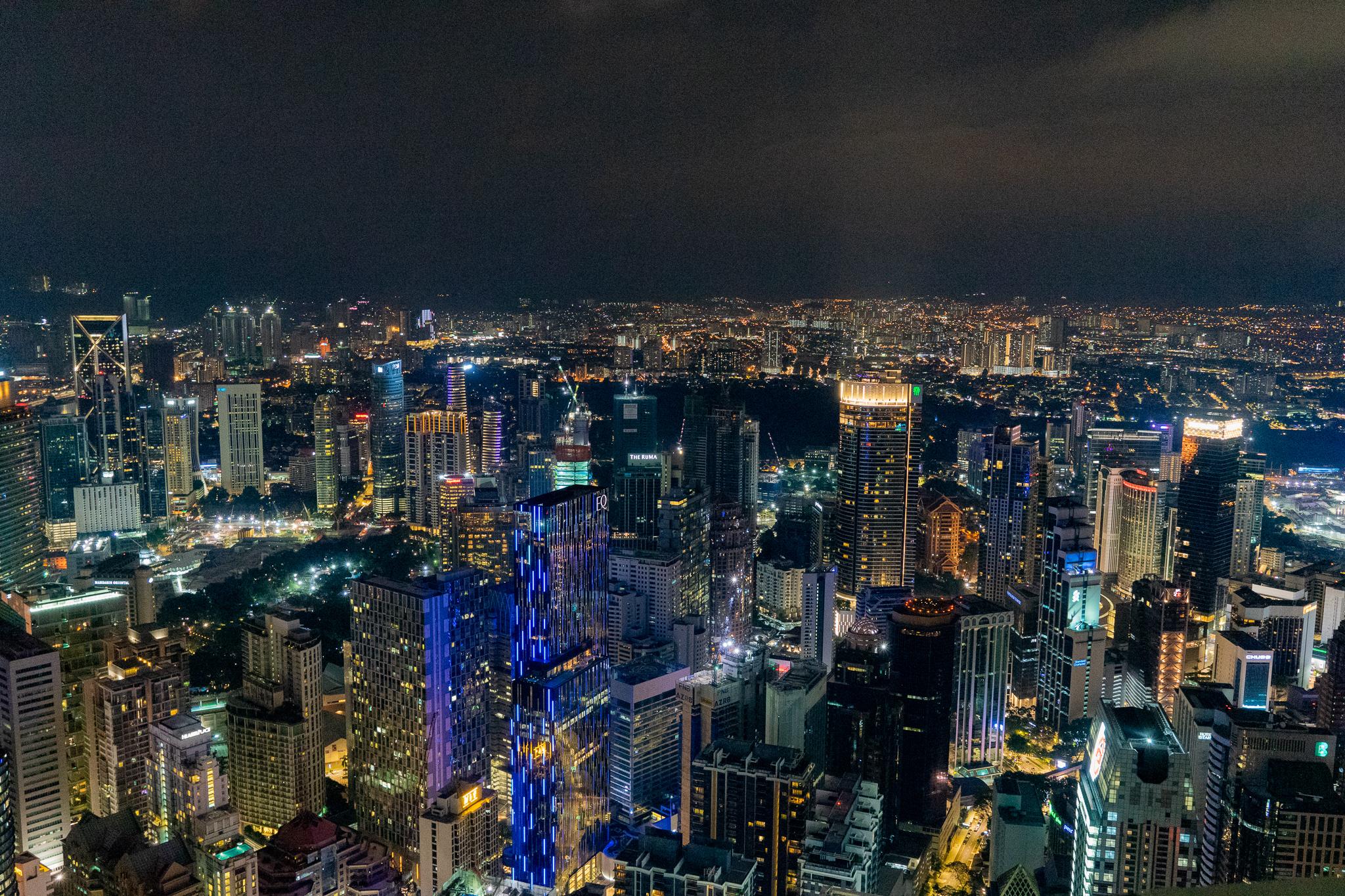 KLタワーからの夜景01