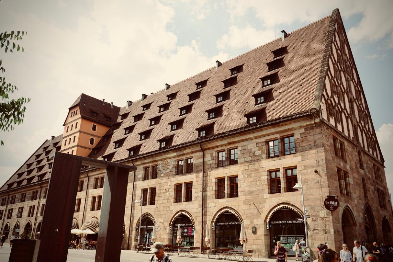 ニュルンベルクの建物