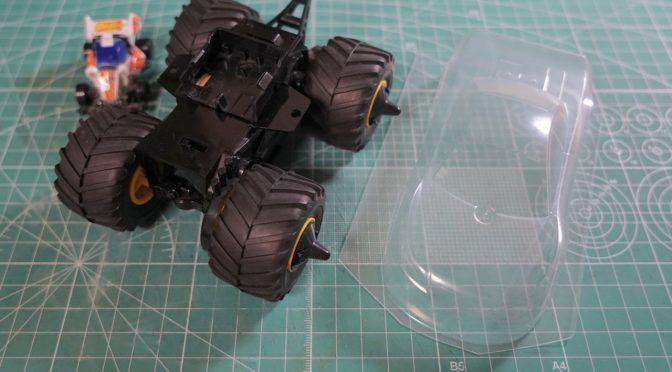新ワイルドマシン製作/Making New Wild Mini4WD Car