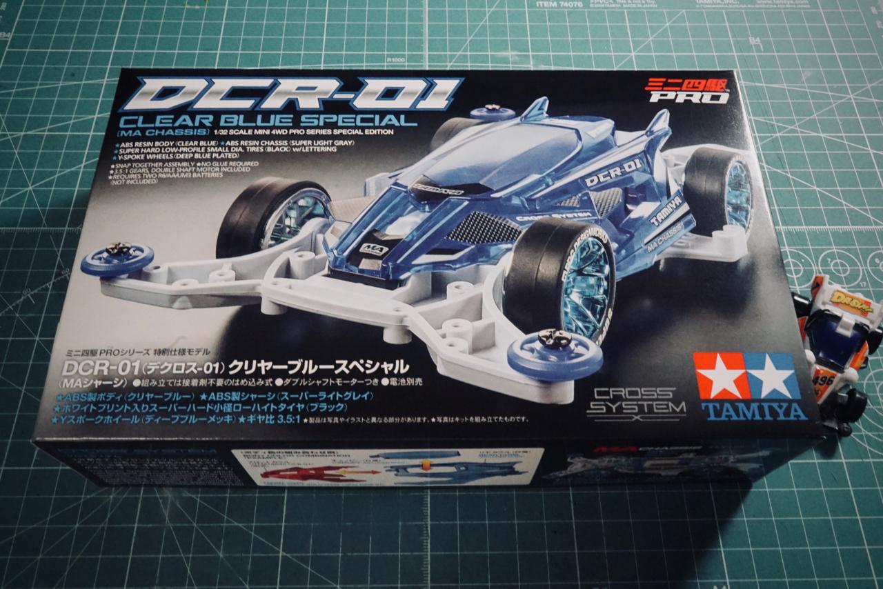 DCR-01クリヤーブルースペシャル