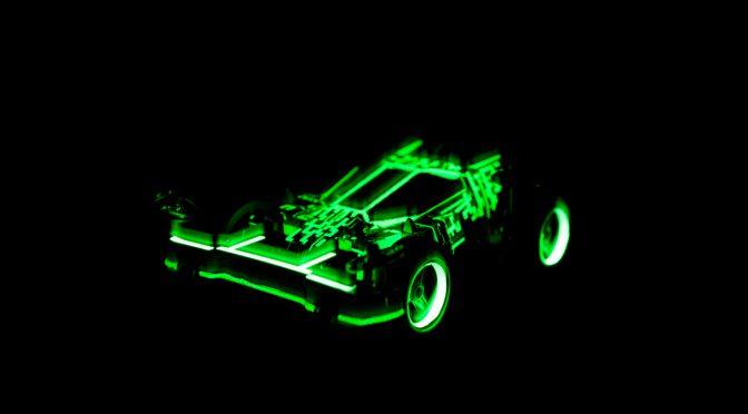 ナイトレース用マシン/New one for the night race