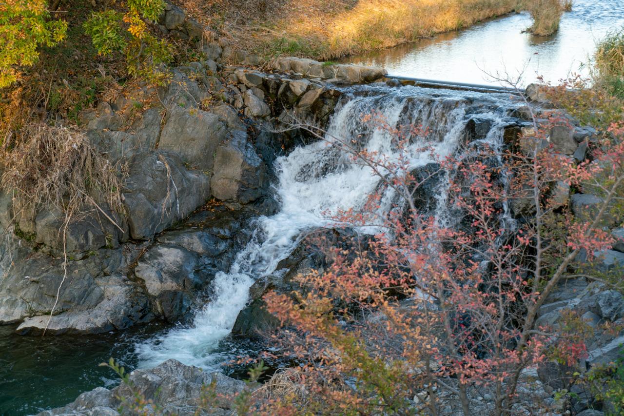 明日香村の滝
