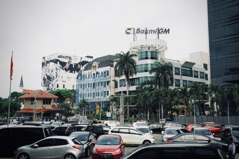 ジャカルタの建物