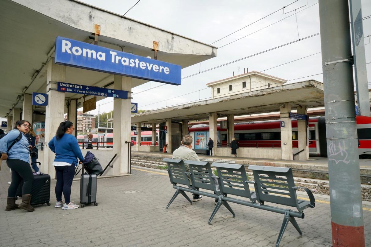 ローマ・トラステヴェレ駅