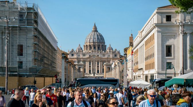 2019秋休み⑧バチカンとローマ観光/2019 Autumn Holidays⑧Vatican and Rome sightseeing