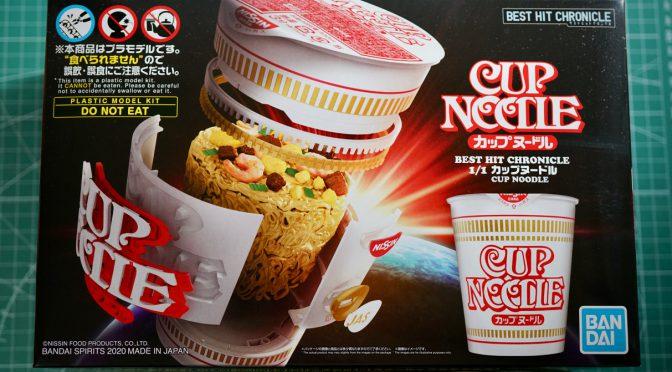 カップヌードルプラモデル ①/Cup Noodles Model Kit ①