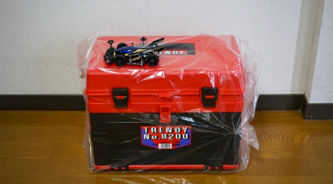 "ミニ四駆収納BOX「トレンディーNo.8200」/""TRENDY No.8200″ for storing Mini 4WD"