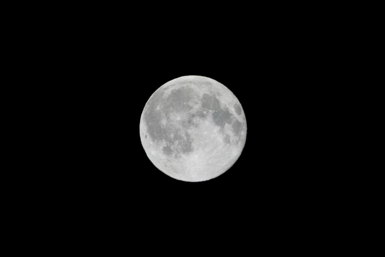 12月30日の満月